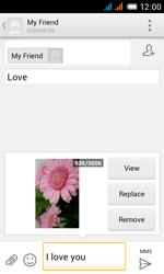 Alcatel OT-4033X Pop C3 - Mms - Sending a picture message - Step 15