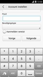 Huawei Ascend Y550 - E-mail - Handmatig instellen - Stap 17