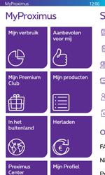 Nokia Lumia 635 - Applicaties - MyProximus - Stap 13
