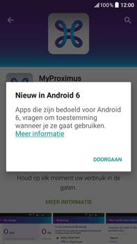 HTC Desire 825 - Applicaties - MyProximus - Stap 10