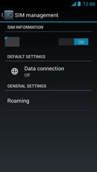 Acer Liquid Z5 - Internet - Enable or disable - Step 7
