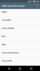 Sony Xperia E5 (F3313) - Mensajería - Configurar el equipo para mensajes multimedia - Paso 12