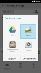 Bouygues Telecom Ultym 5 - Contact, Appels, SMS/MMS - Envoyer un MMS - Étape 14