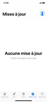 Apple iPhone XS - Applications - comment vérifier si des mises à jour sont disponibles pour l'appli - Étape 5