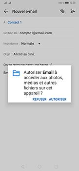 Huawei Mate 20 Pro - E-mail - envoyer un e-mail - Étape 10