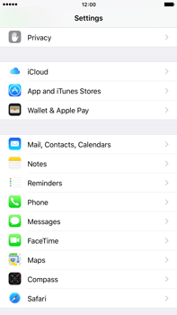 Apple iPhone 6 Plus iOS 9 - E-mail - Manual configuration POP3 with SMTP verification - Step 4