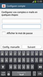 Samsung I9195 Galaxy S IV Mini LTE - E-mail - Configuration manuelle - Étape 6