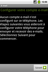 Alcatel OT-991 Smart - E-mail - Configuration manuelle - Étape 6