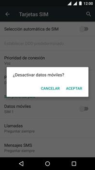 Motorola Moto X Play - Internet - Activar o desactivar la conexión de datos - Paso 7