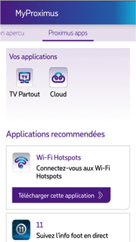 Samsung I8190 Galaxy S III Mini - Applications - MyProximus - Étape 23