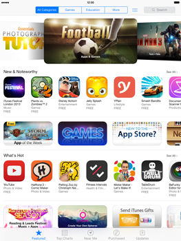 Apple iPad mini iOS 7 - Applications - Downloading applications - Step 3
