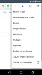 Sony Xperia XZ (F8331) - Internet - Navigation sur Internet - Étape 12