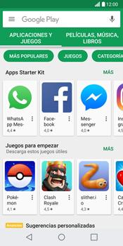 LG G6 - Aplicaciones - Descargar aplicaciones - Paso 5