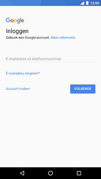 Nokia 6 (2018) - Applicaties - Account instellen - Stap 4