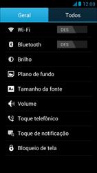 Huawei Ascend G510 - Funções básicas - Como restaurar as configurações originais do seu aparelho - Etapa 5