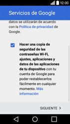 LG Leon - E-mail - Configurar Gmail - Paso 15