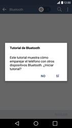 LG K10 4G - Bluetooth - Conectar dispositivos a través de Bluetooth - Paso 5