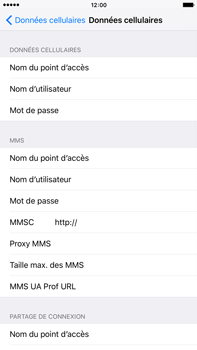 Apple iPhone 6 Plus iOS 9 - MMS - Configuration manuelle - Étape 5
