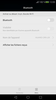 Huawei Mate S - Bluetooth - connexion Bluetooth - Étape 6
