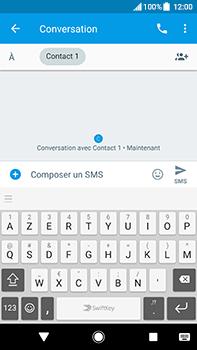 Sony Xperia XA2 Ultra - Contact, Appels, SMS/MMS - Envoyer un SMS - Étape 7