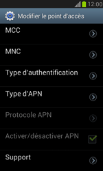Samsung I8190 Galaxy S III Mini - Internet - Configuration manuelle - Étape 13