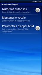 Sony Ericsson Xperia X10 - Messagerie vocale - configuration manuelle - Étape 6