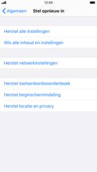Apple iphone-7-met-ios-13-model-a1778 - Instellingen aanpassen - Fabrieksinstellingen terugzetten - Stap 5