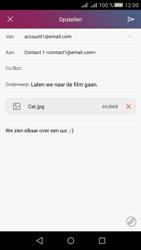 Huawei Huawei Y5 II - E-mail - Hoe te versturen - Stap 15