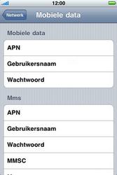 Apple iPhone 3G S - Internet - handmatig instellen - Stap 6