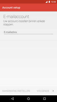 Motorola Moto X Style - E-mail - Handmatig instellen - Stap 10