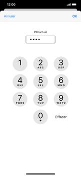 Apple iPhone XR - iOS 13 - Sécurité - modifier SIM PIN - Étape 7
