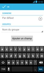 Bouygues Telecom Bs 401 - Contact, Appels, SMS/MMS - Ajouter un contact - Étape 7