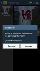 Samsung Galaxy S4 - Bluetooth - Transferir archivos a través de Bluetooth - Paso 11