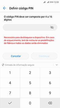 Huawei Mate 10 - Segurança - Como ativar o código de bloqueio do ecrã -  7