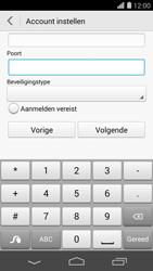 Huawei Ascend P7 - E-mail - Account instellen (POP3 zonder SMTP-verificatie) - Stap 17