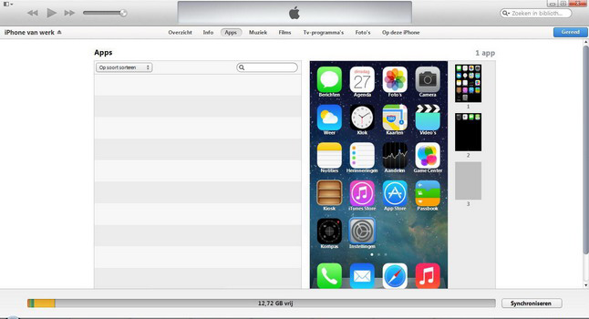 Apple iPhone 4 met iOS 7 - Software - PC-software installeren - Stap 11