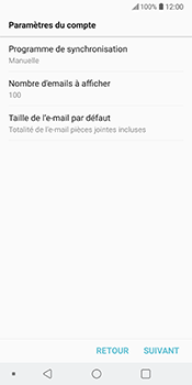 LG V30 - E-mail - Configuration manuelle - Étape 19