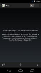 Acer Liquid Jade S - Wifi - configuration manuelle - Étape 4