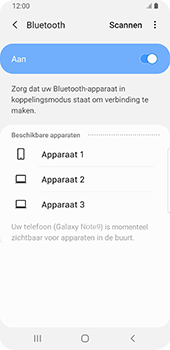 Samsung galaxy-note-9-sm-n960f-android-pie - Bluetooth - Aanzetten - Stap 6