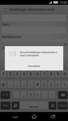 Sony D6503 Xperia Z2 - E-mail - e-mail instellen: IMAP (aanbevolen) - Stap 11