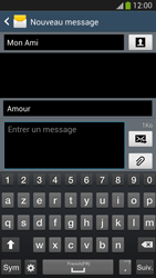 Samsung I9505 Galaxy S IV LTE - MMS - envoi d'images - Étape 11