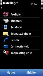 Nokia N8-00 - MMS - handmatig instellen - Stap 5
