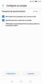 Huawei P Smart - E-mail - Configuration manuelle - Étape 17