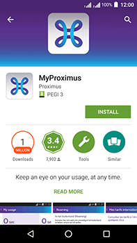 Acer Liquid Zest 4G Plus - Applications - MyProximus - Step 8