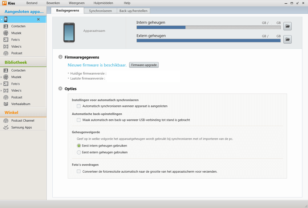 Samsung I9070 Galaxy S Advance - Software - Installeer firmware update - Stap 5