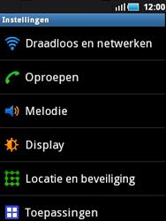 Samsung S5570 Galaxy Mini - Wifi - handmatig instellen - Stap 3