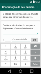 LG Y50 / LEON - Aplicações - Como configurar o WhatsApp -  6