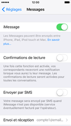 Apple iPhone SE - iOS 10 - iOS features - Envoyer un iMessage - Étape 5