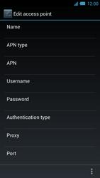 Acer Liquid S2 - Internet - Manual configuration - Step 13