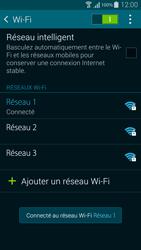 Samsung Galaxy Alpha - WiFi et Bluetooth - Configuration manuelle - Étape 8